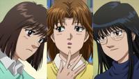 Kumi, Mari, Nanako - Anime - 001