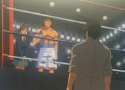 Ippo accepting Sendo's rematch request