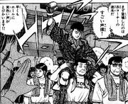 Hayami - Manga - Ring Entrance for Ippo match