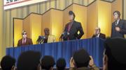 Takamura and Bernard's press conference