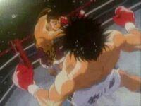 Ippo vs Saeki