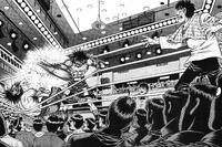 Mashiba VS Sawamura Ring Out Chaos Arc