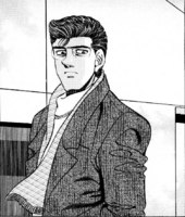 Sanada's first appearance