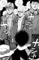 Ippo meeting Hammer Nao first time