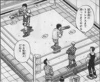 Ippo vs Fukui spar