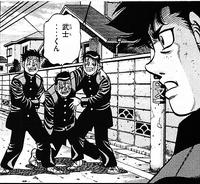 Sendo - Gaiden - Sendo see friend beaten up