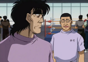 The Toho coach informs Mashiba about a world fighter wanting to fight him after his title defence