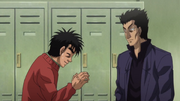 Ippo meets Sawamura