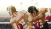 Takamura's finishing blow on Eagle
