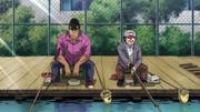 Takamura and Yagi fishing