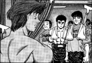 Otowa Coach and Imai - Manga - Prior to Semi Final Match - 01