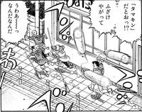 Takamura attacking Ippo, Taihei, and Kaneda - 01