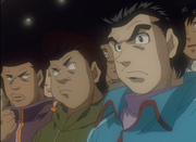 Former bullies watching Ippo vs Sendo All Japan