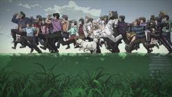 HnI Characters Running Backround