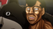 Takamura's appearance during his match against West