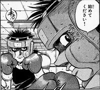 Ippo vs Imai II - Manga - Spar - 02
