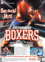 Victorious Boxers - Ippo's Road to Glory - US - Back