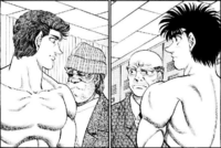 Ippo and Sanada - Weigh in
