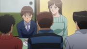 Ippo, Aoki, and Kimura meet the Takamura siblings