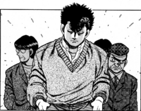 Sendo - Manga - Showing up for match