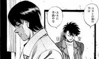 Sendo talking to Miyata