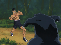 Takamura Bear Encounter