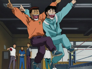 Aokimura Messing with Ippo