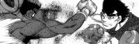 Takamura Destroying Sparring Partner