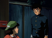 Hiroko worried about Ippo's injuries
