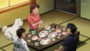 Hiroko with Ippo and Umezawa Anime - 01