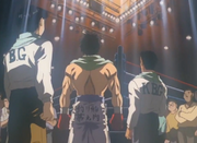 Ippo returns to the ring after losing to Date