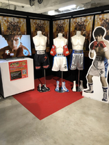 Art Exhibit - Stage Play Display - 01