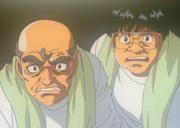 Kamogawa and Yagi witness the Dempsey Roll