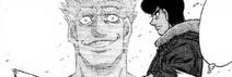Takamura remembering fighting Hawk while watching Sawamura and Mashiba's match