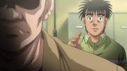 Yamada declining Ippo's handshake