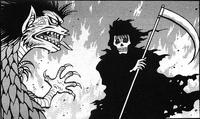 Dragon vs Grim Reaper