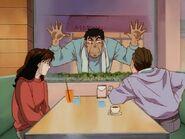 Mikami surprend Oda et sa fille ensemble