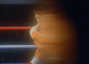 Saeki creates Ippo's blindspot