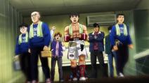 Ippo going to his match against Shimabukuro
