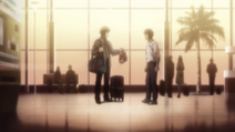Volg gives Ippo his boxing gloves