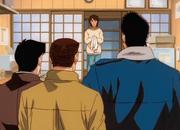 Hiroko meets Takamura, Aoki, Kimura