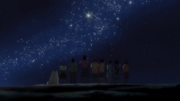 Everyone watching the stars