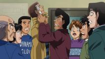 Takamura picks on Aoki after his lost agaisnt Imae