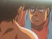 Yanaoka realising that Sendō is unconscious
