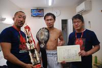 JB Sports - Morikawa with JBC Champion Tamura Ryoichi