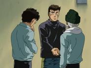 Sanada Thanking Hanma for his Training