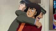 Date telling Sendo and Miyata to be friends at Sawamura match