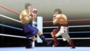 IppoDodgingSawamura'sFoot