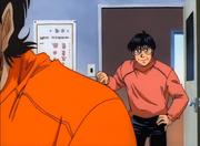 Yanaoka talking with Sendo