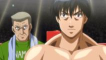 Miyata with Ichiro during his match against Medgeon